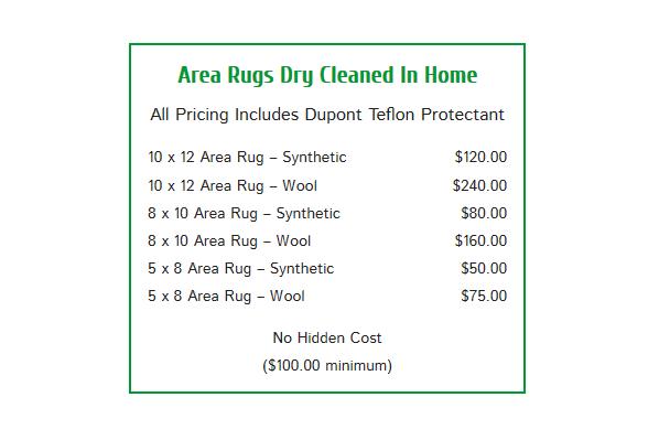 Las Vegas Area Rug Cleaning